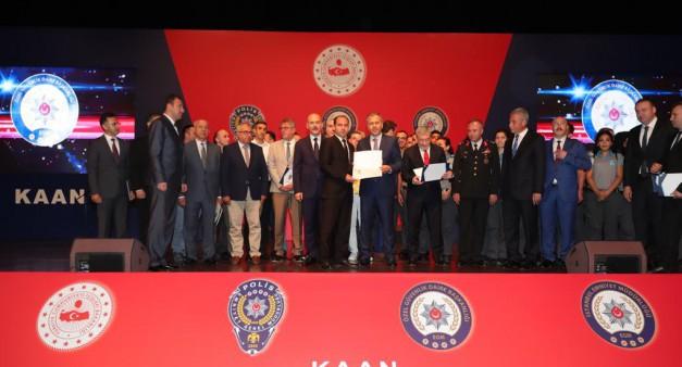 Üniversitemiz Koruma ve Güvenlik Personeline Başarı Ödülü